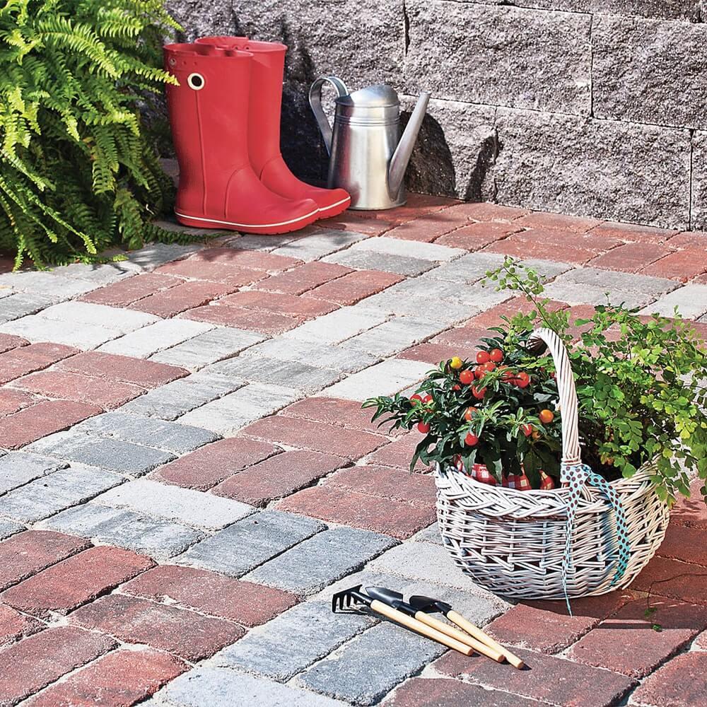 Фото Бруківка Колор-мікс Вінтаж Колір: Верона від салону тротуарної плитки «Melius» у Вінниці. Як почистити тротуарну плитку