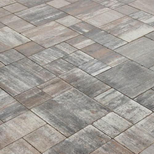 Фото Тротуарна плитка Лайнстоун-30 Колір: Платина від салону тротуарної плитки «Melius» Вінниця