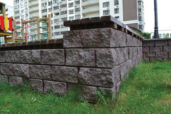 Фото блоки з каменю для вулиці. Салон тротуарної плитки «Melius» у Вінниці