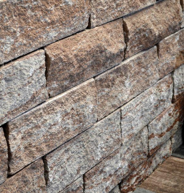 Фото фасадна плитка з каменю. Салон тротуарної плитки «Melius» у Вінниці