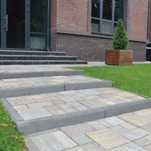 Фото бетонний бордюр від салону тротуарної плитки «Melius» у Вінниці