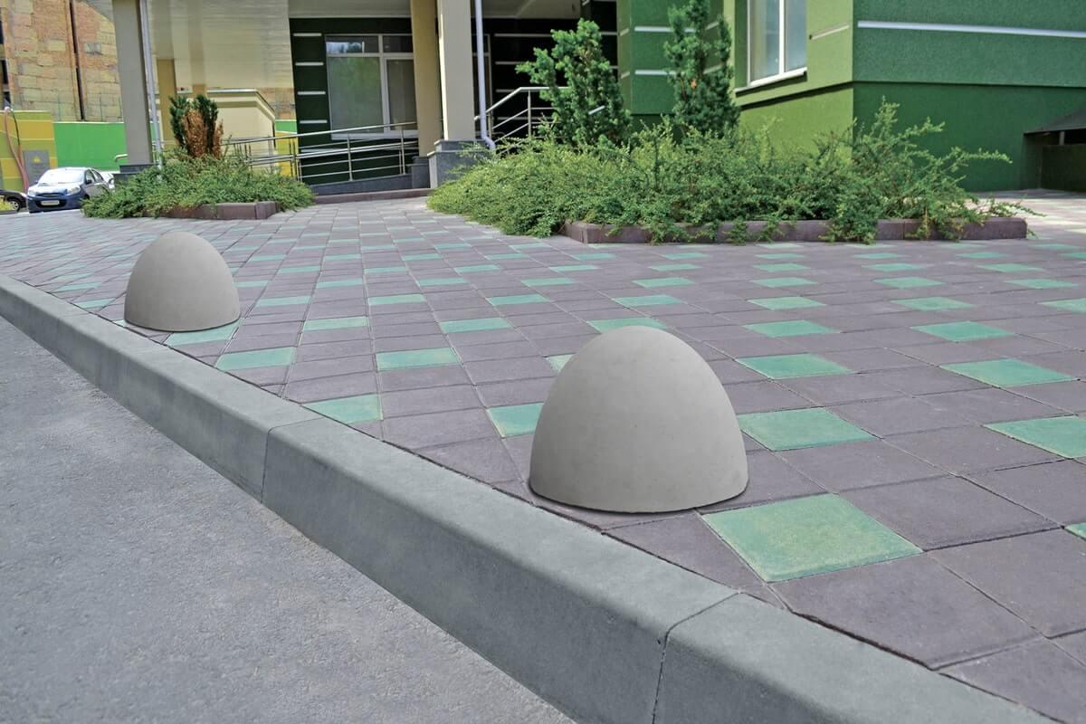 Екстер'єр вулиці від салону тротуарної плитки «Melius» у Вінниці Фото Бордюр парковий