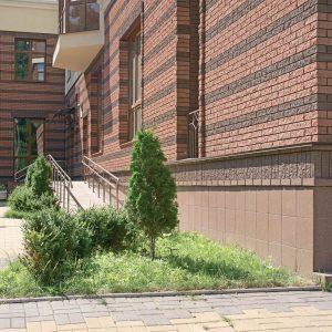 Фото облицювальної плитки на будинку від салону тротуарної плитки «Melius» у Вінниці Фото