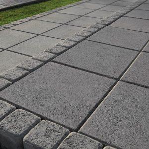 Тротуарна плитка різного розміру Фото від салону тротуарної плитки «Melius» у Вінниці