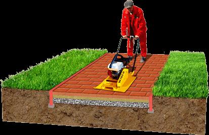 Фото Технологія укладки тротуарної плитки Етап 6 від салону тротуарної плитки «Melius» у Вінниці