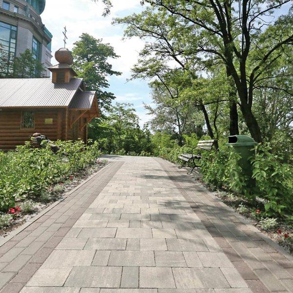 Тротуарна плитка Лайнстоун-20 від салону тротуарної плитки «Melius» Вінниця Фото