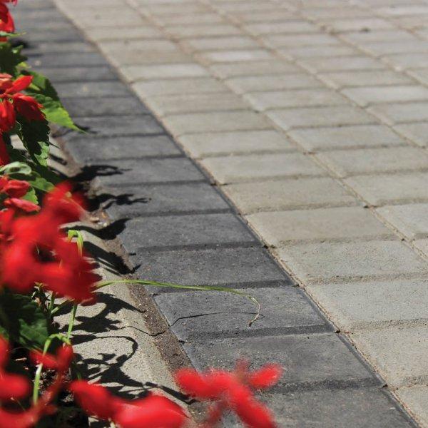 Фото Бруківка 20х20 Колір: Сірий від салону тротуарної плитки «Melius» у Вінниці