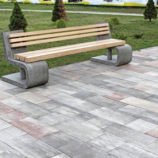 Фото Тротуарна плитка Лайнстоун-30 Колір: Палермо від салону тротуарної плитки «Melius» Вінниця