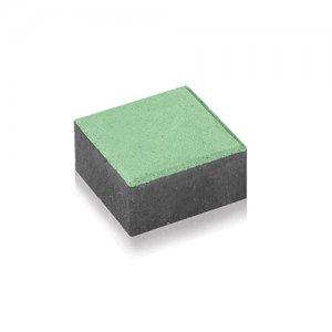 Фото Тротуарна плитка Квадрат 15х15 Колір: Зелений від салону тротуарної плитки «Melius» Вінниця