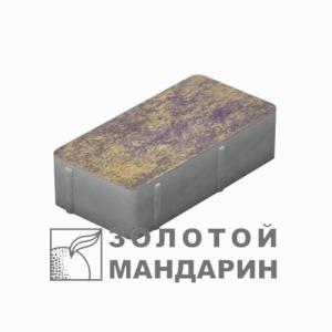 """Фото Кирпич стандартний без фаски 200х100 """"Золотий мандарин"""" від салону тротуарної плитки «Melius» у Вінниці"""