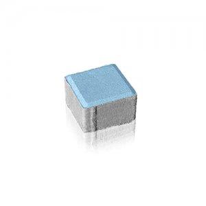 Фото Бруківка Квадрат 10х10 Колір: Синій від салону тротуарної плитки «Melius» у Вінниці