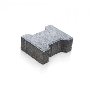 Фото Тротуарна плитка Подвійна Т Колір: Сірий від салону тротуарної плитки «Melius» Вінниця
