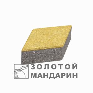 """Фото Тротуарна плитка Ромб """"Золотий мандарин"""" від салону тротуарної плитки «Melius» у Вінниці"""