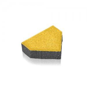 Тротуарна плитка Шатро Колір: Жовтий від салону тротуарної плитки «Melius» у Вінниці Фото