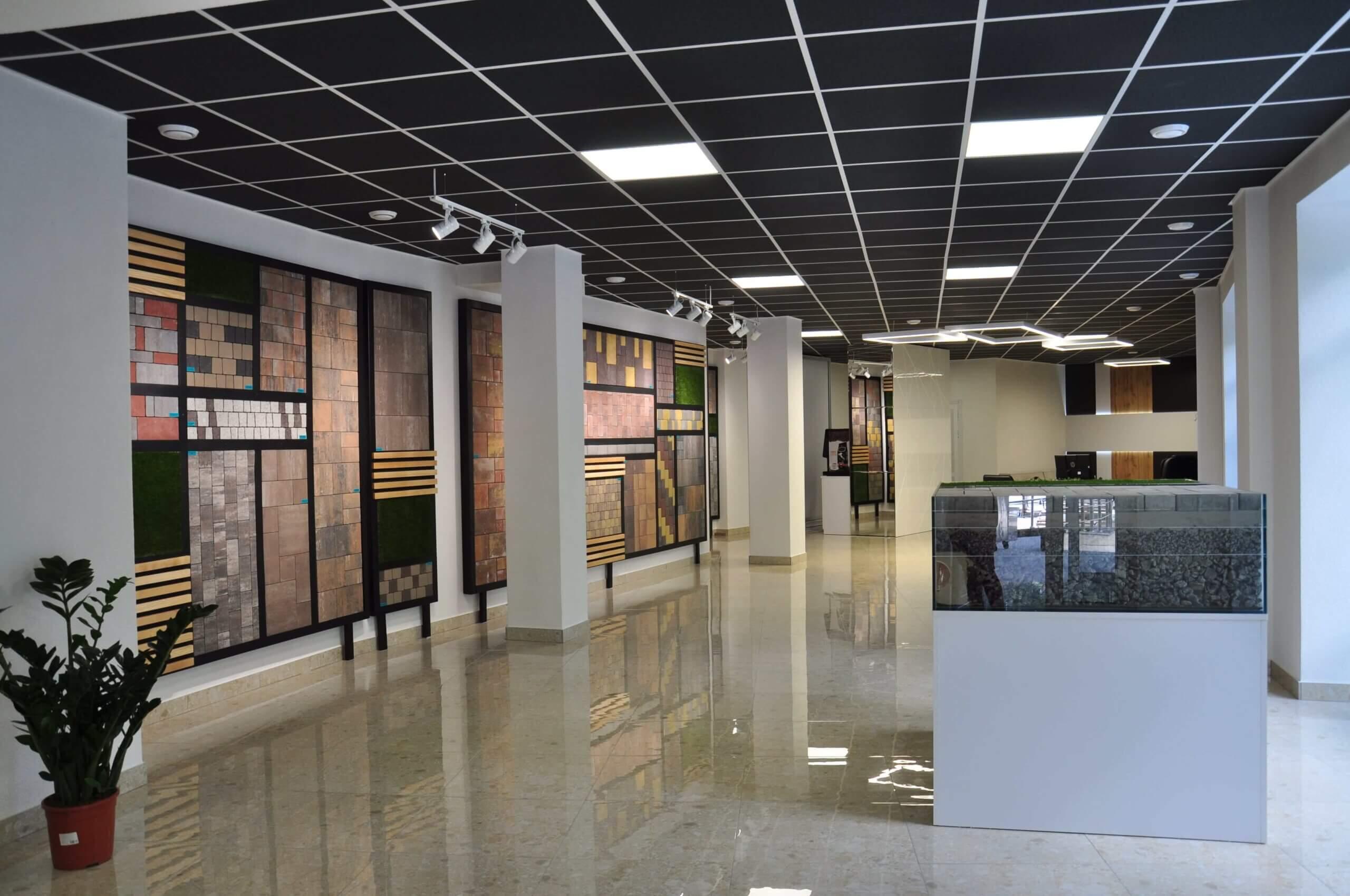 Фото офісу салону тротуарної плитки «Melius» у Вінниці