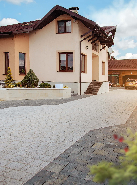 Фото Тротуарна плитка для приватного будинку. Салон тротуарної плитки Melius