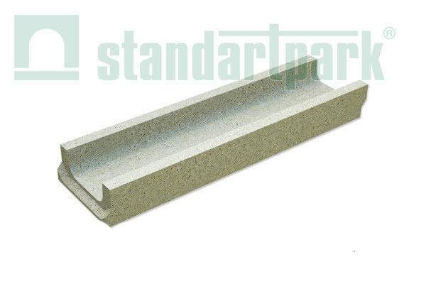 Фото Лоток бетонний Betomax DN 100 H 125 від салону тротуарної плитки «Melius» у Вінниці