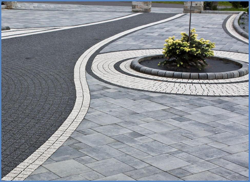 Серая плитка тротуарная от салона тротуарной плитки «Melius» Винница