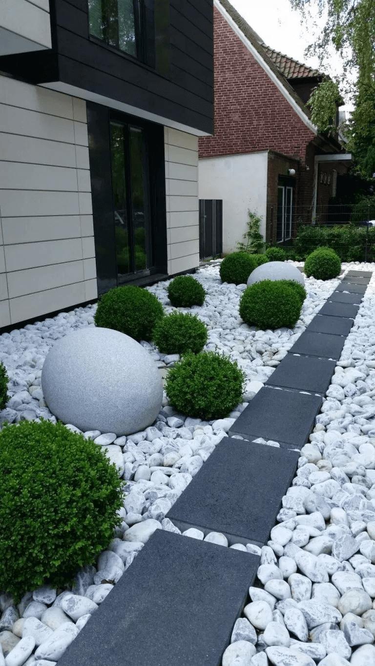 Внутрішній дворик фото від салону тротуарної плитки «Melius» Вінниця