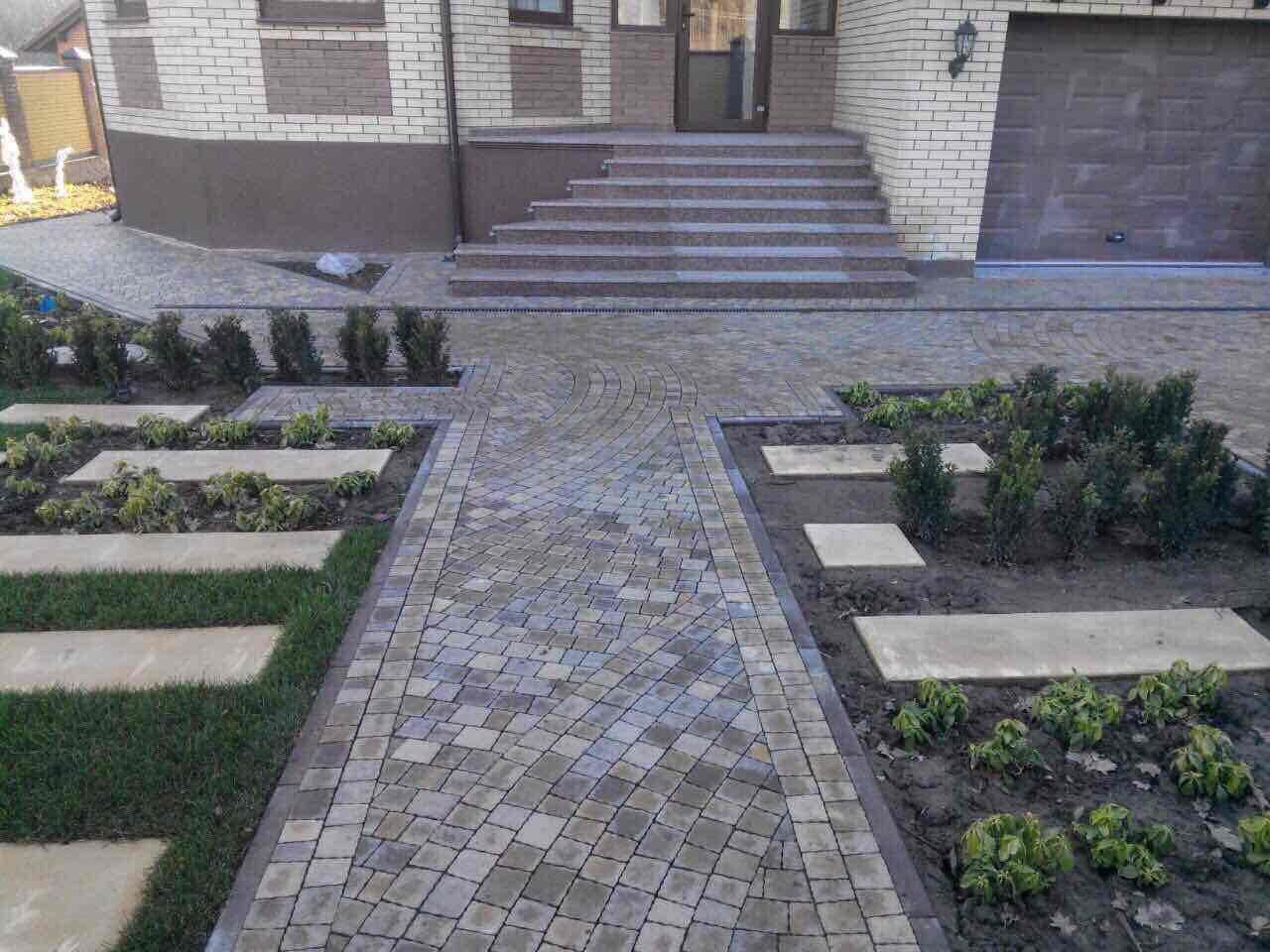 Тротуарна плитка Фото от салона тротуарной плитки «Melius» Винница