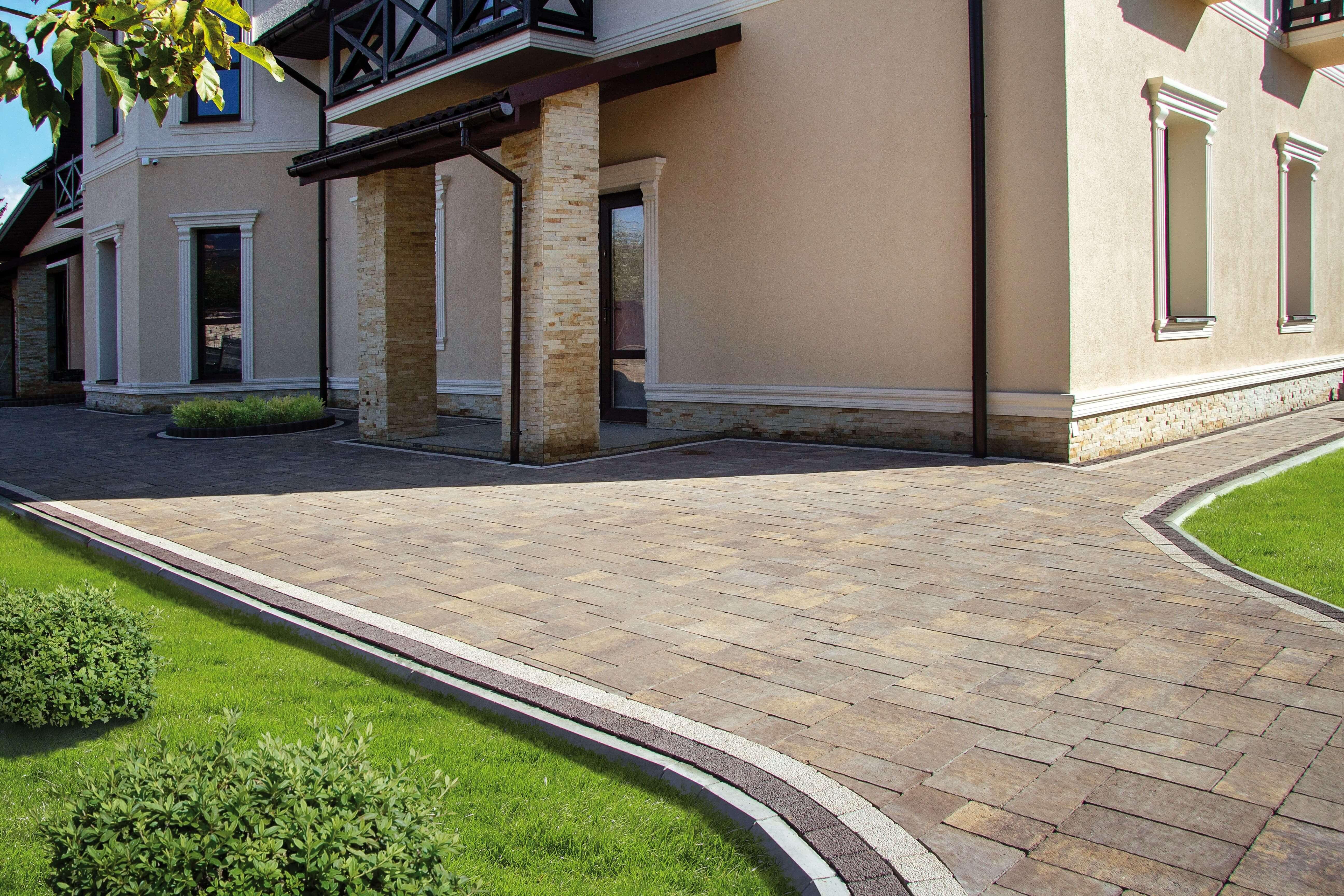 Укладка Тротуарної плитки від салону тротуарної плитки «Melius» у Вінниці