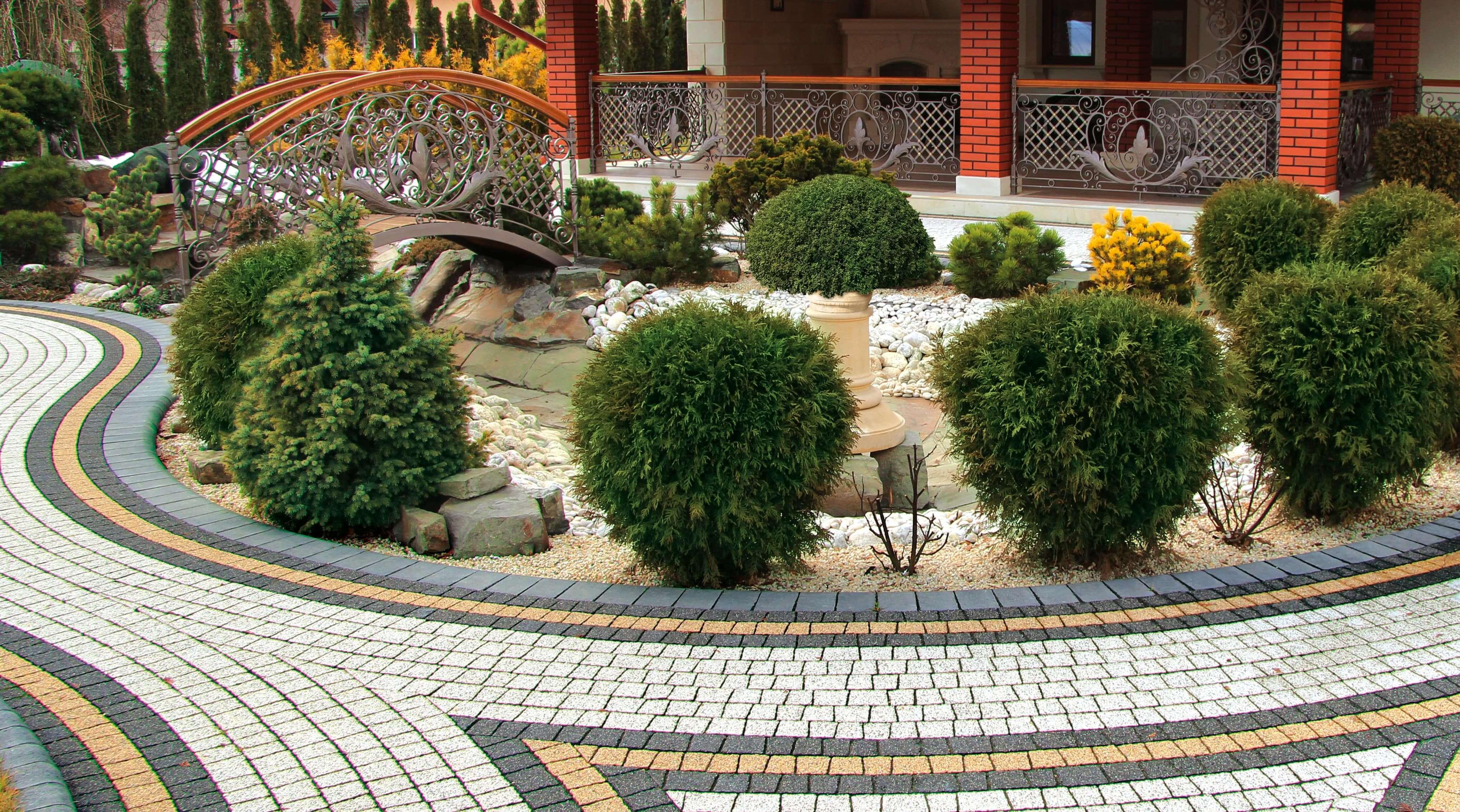 Укладка тротуарной плитки от салона тротуарной плитки «Melius» Винница