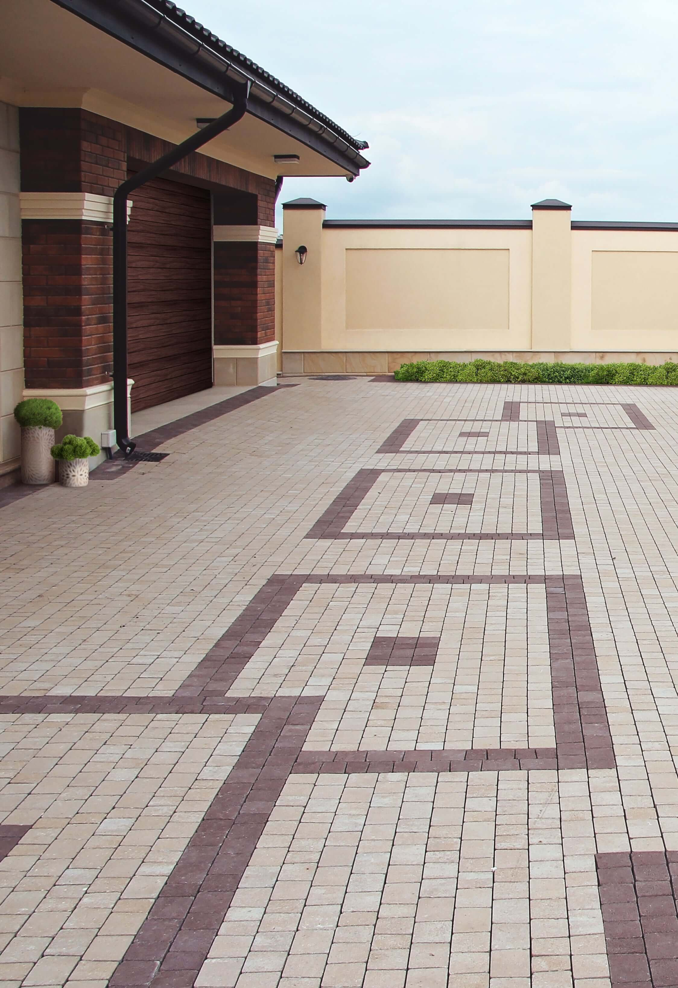 Брущатка для участка от салона плитки тротуарной Мелиус Винница Фото