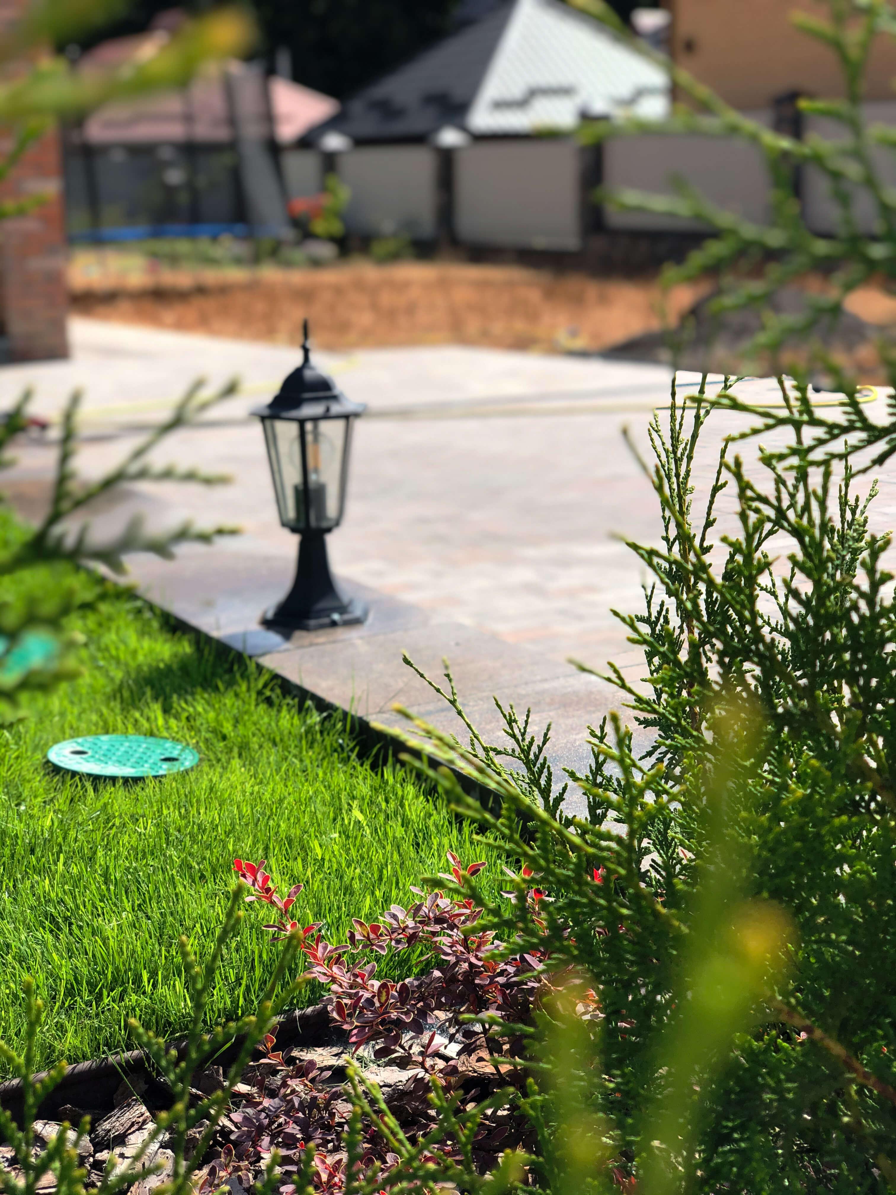 тротуарна плитка в ландшафті вінниця