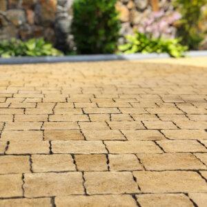 тротуарна плитка жовта