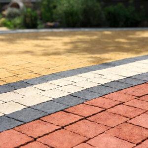 тротуарна плитка різних кольорів мозаїка вінниця