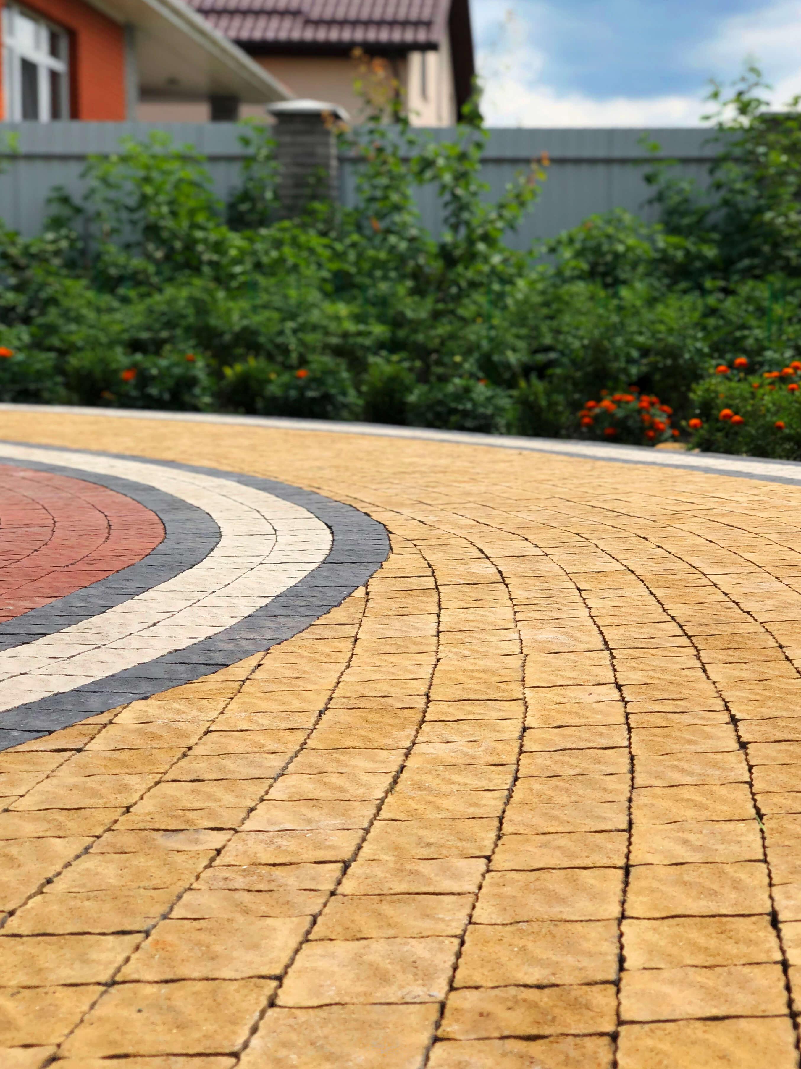 тротуарна плитка мозаїка, вінниця